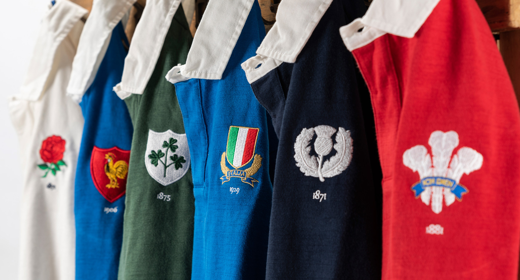 Six Nations Rugby Shirts