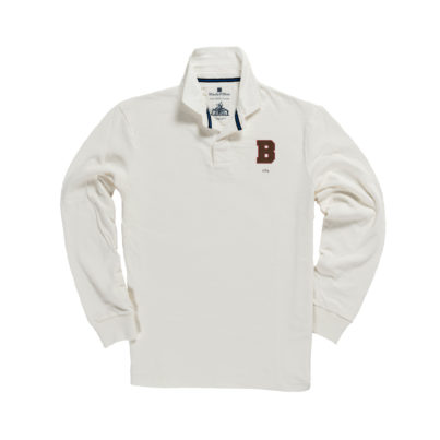 BROWN 1764 RUGBY SHIRT
