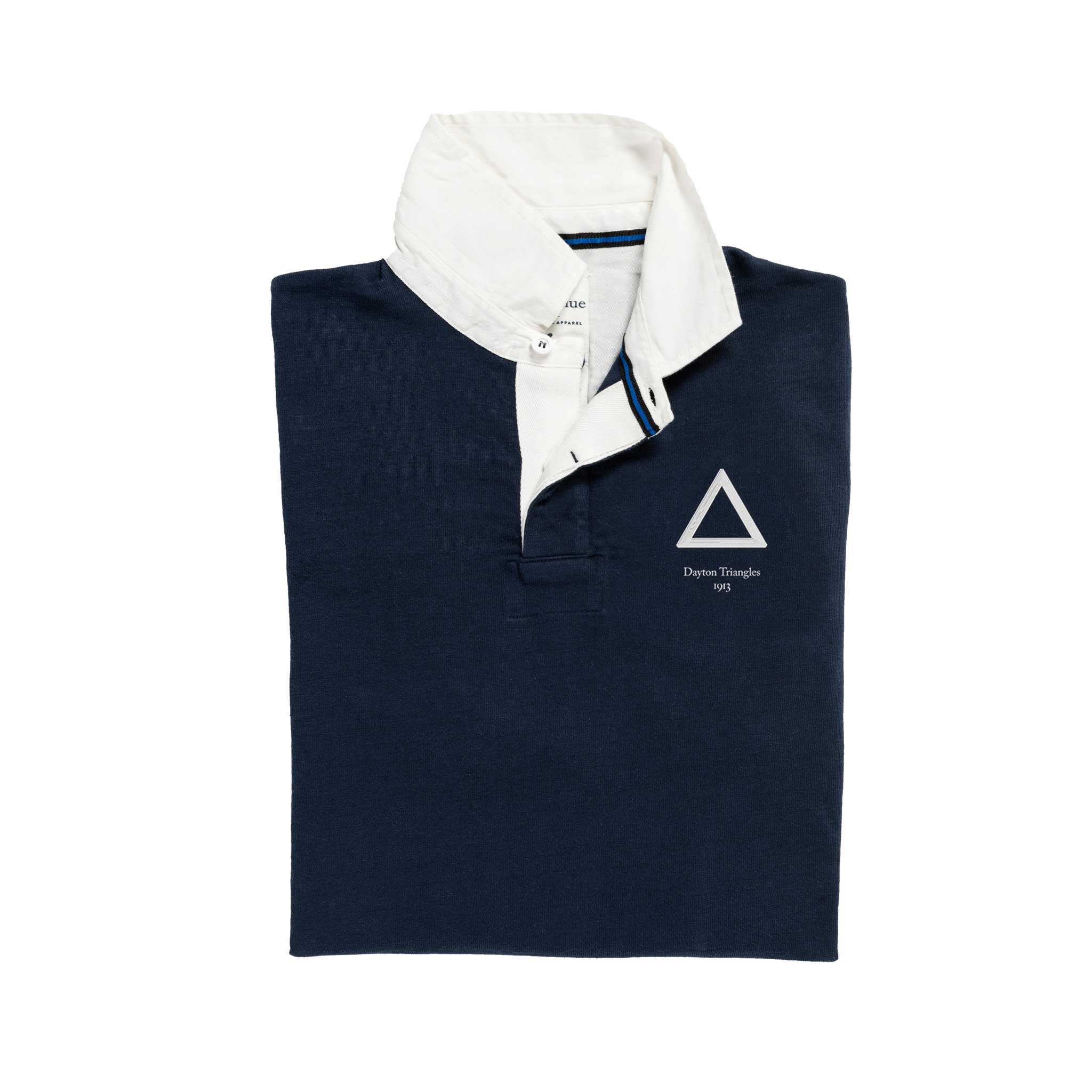 Dayton Triangles Rugby Shirt_Folded
