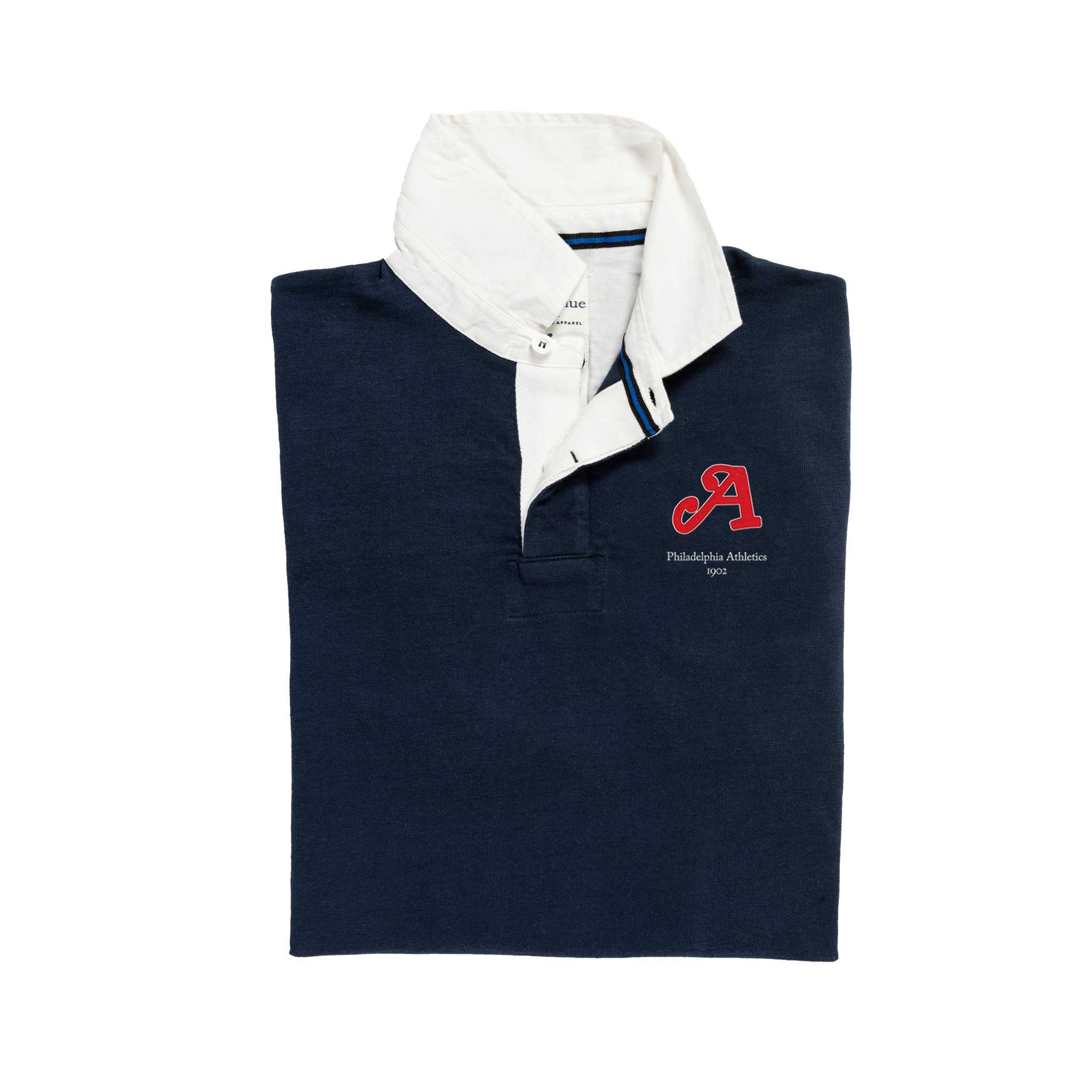 Philadelphia Athletics Rugby Shirt_Folded