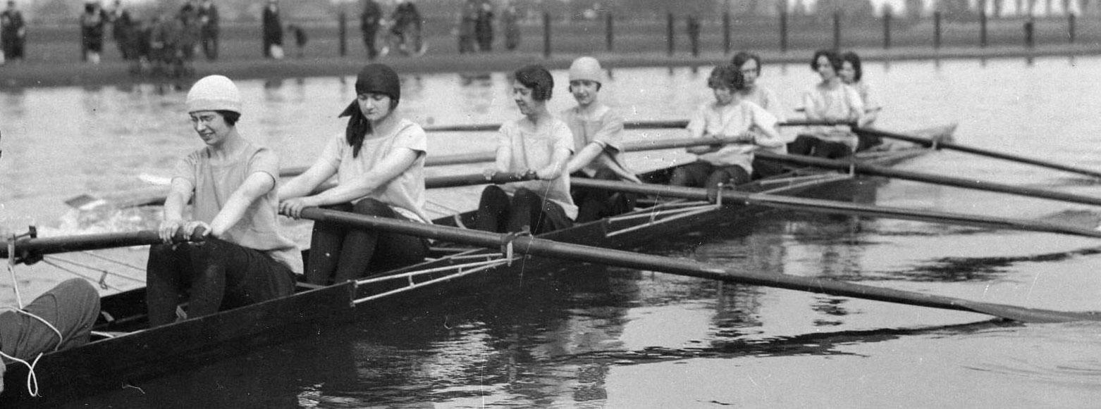 Ladies Rowing Eight