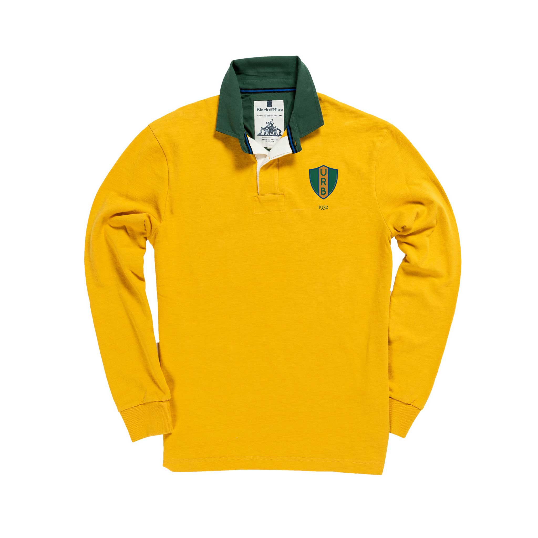 Brazil 1932 Rugby Shirt_Front