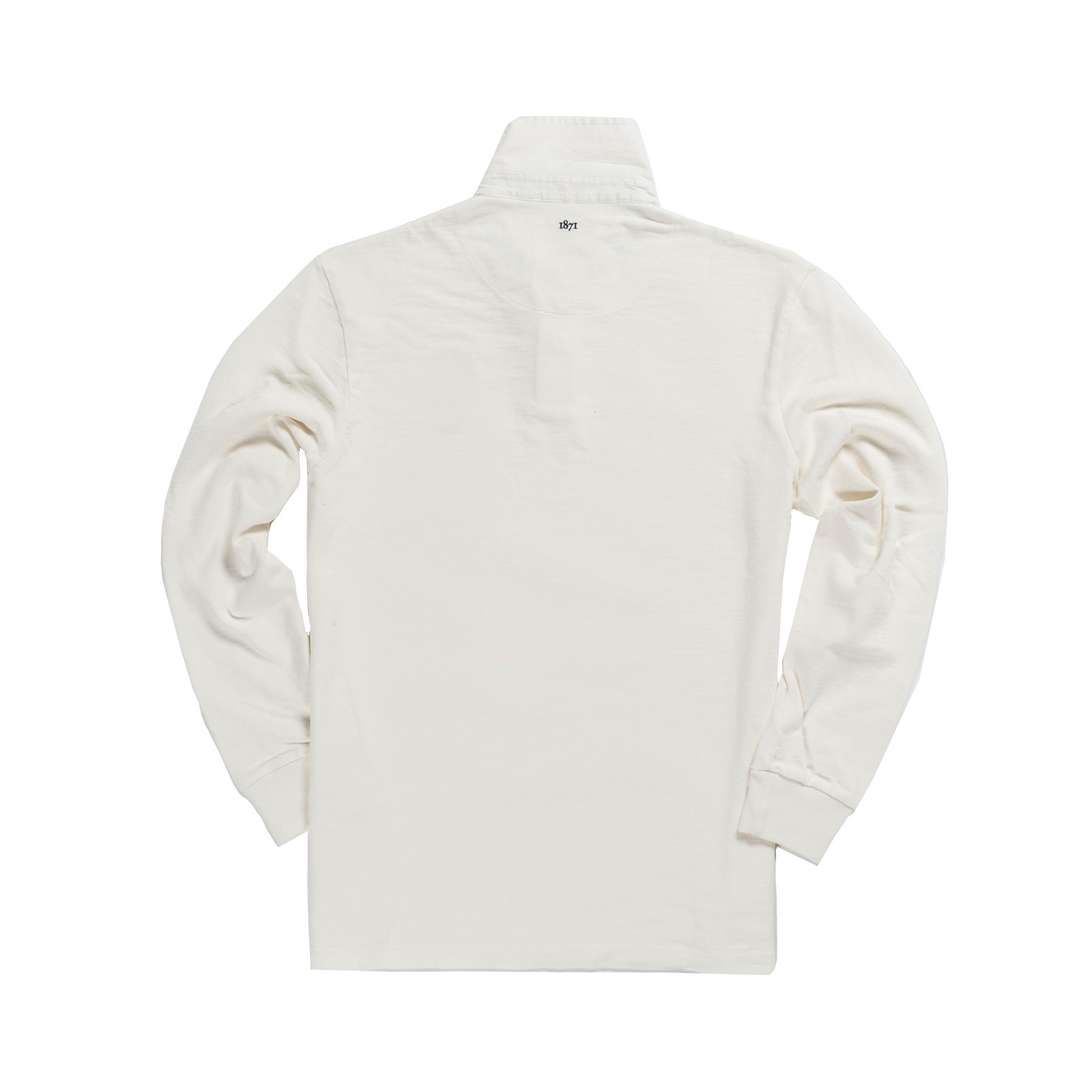 Pembroke 1842 Rugby Shirt White_Back