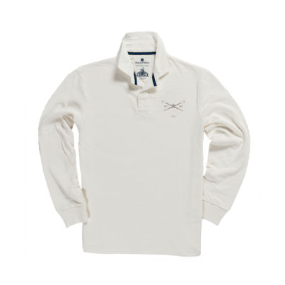 PEMBROKE COLLEGE 1842 RUGBY SHIRT – WHITE