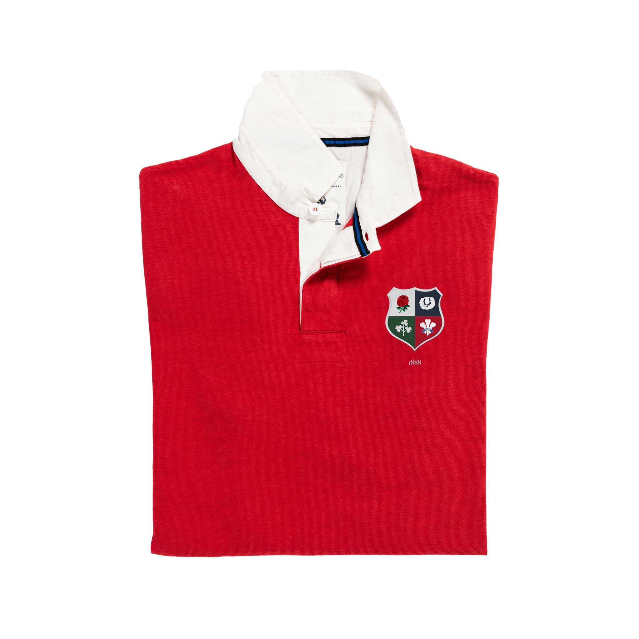 British and Irish Lions 1888 Rugby Shirt_Folded