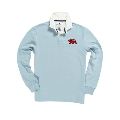 CAMBRIDGE 1872 RUGBY SHIRT – SKY BLUE