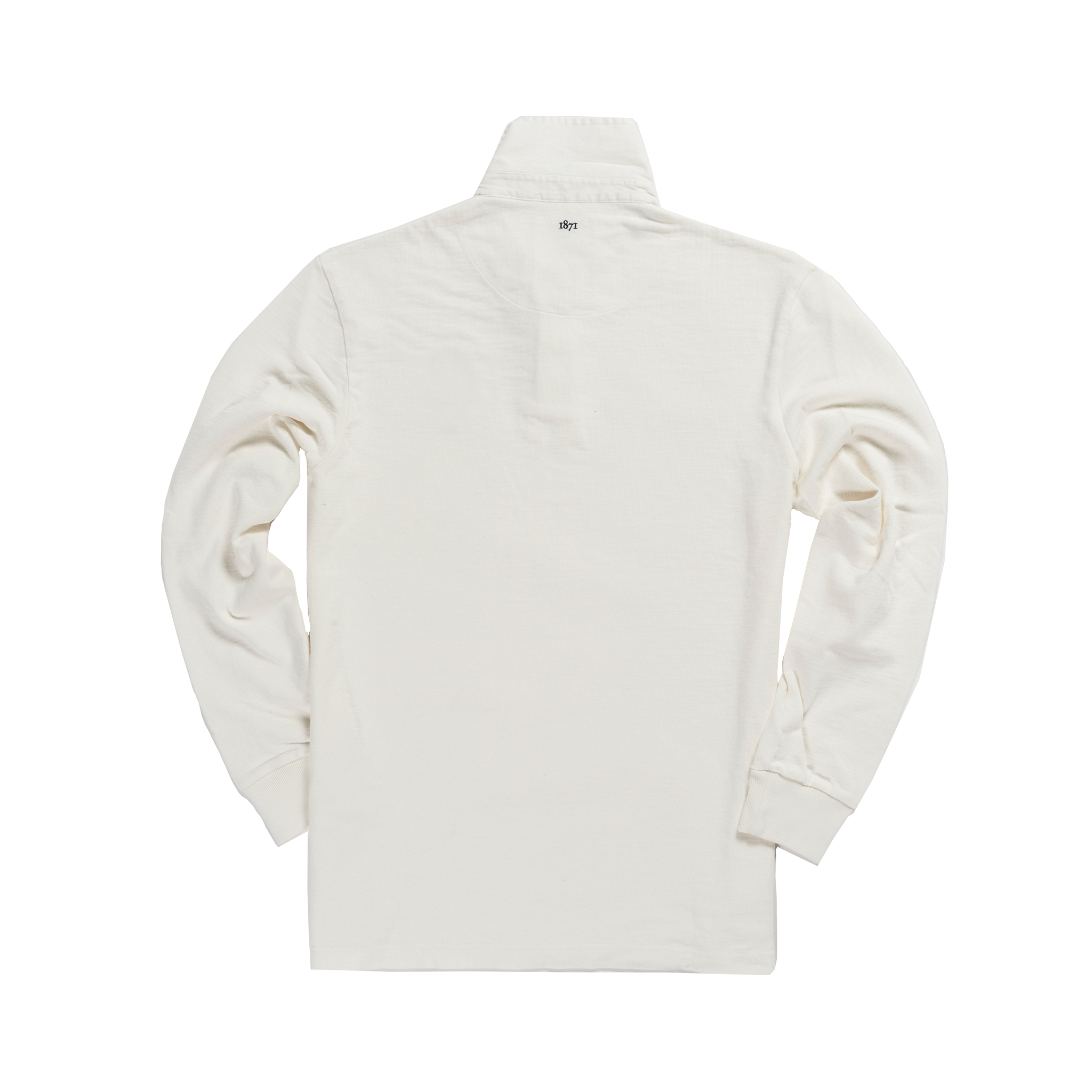 Oxford 1872 Rugby Shirt White_Back