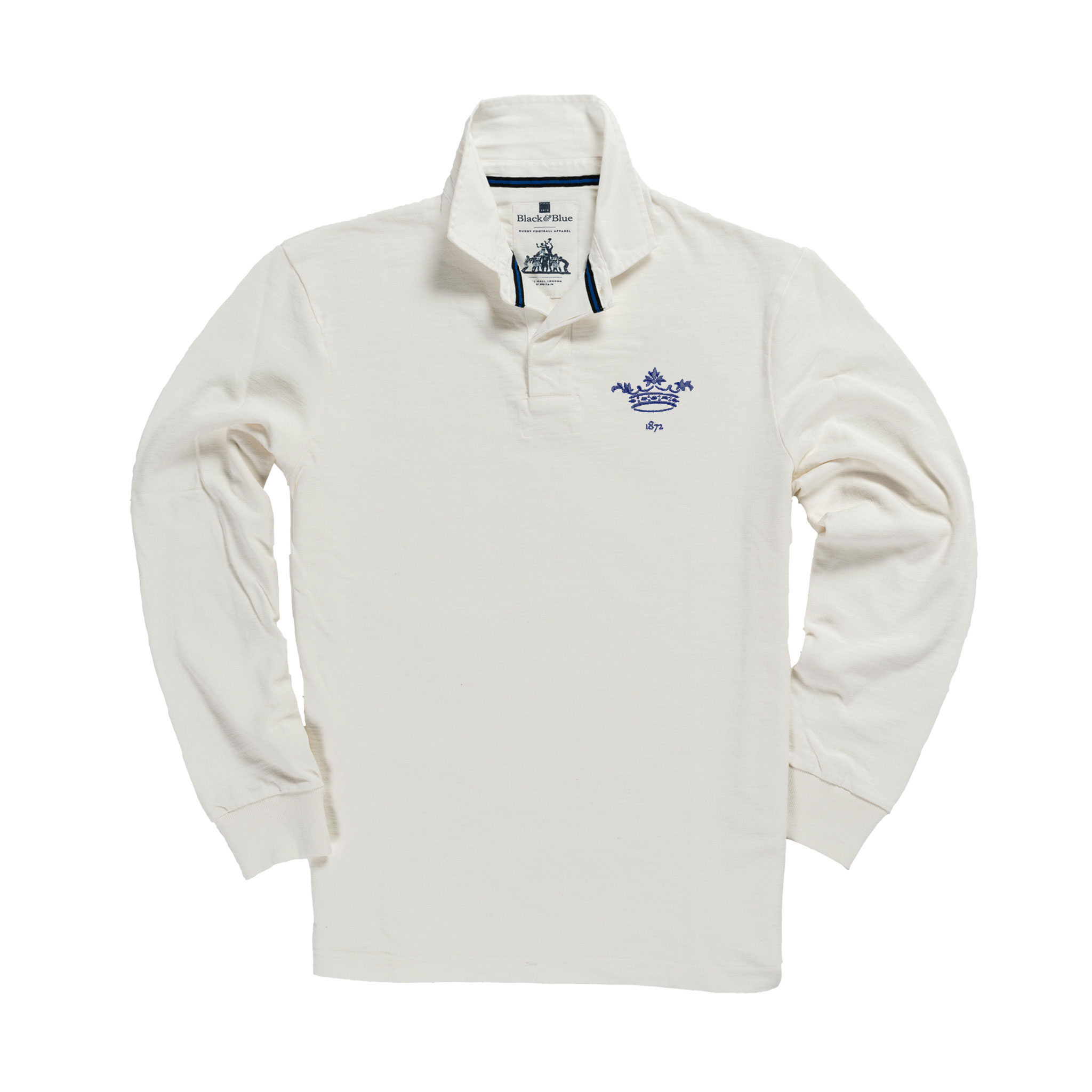 Oxford 1872 Rugby Shirt White_Front
