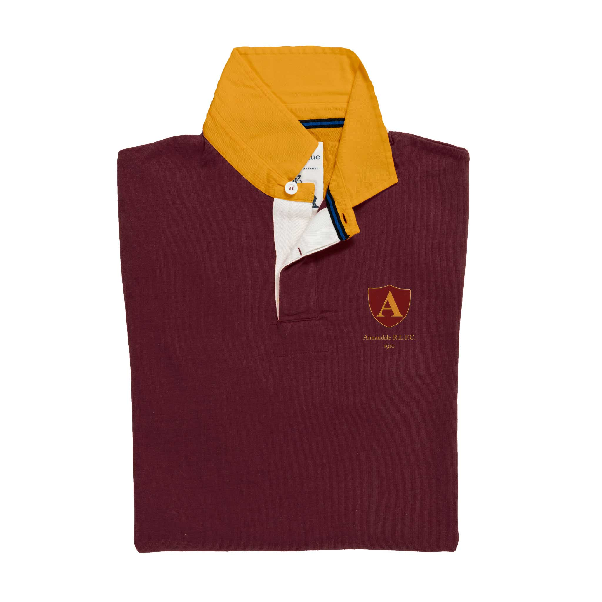 Annandale 1910 Rugby Shirt_Folded