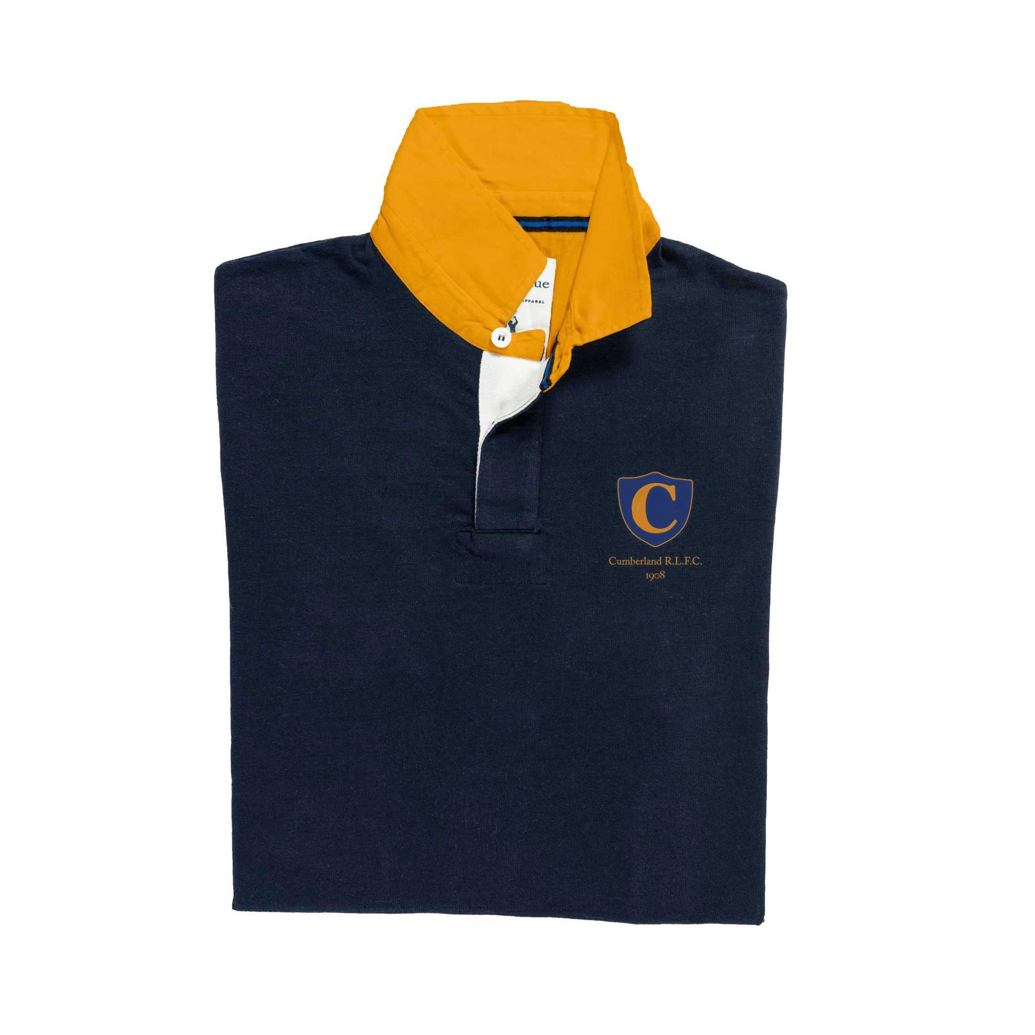 Cumberland 1908 Rugby Shirt_Folded