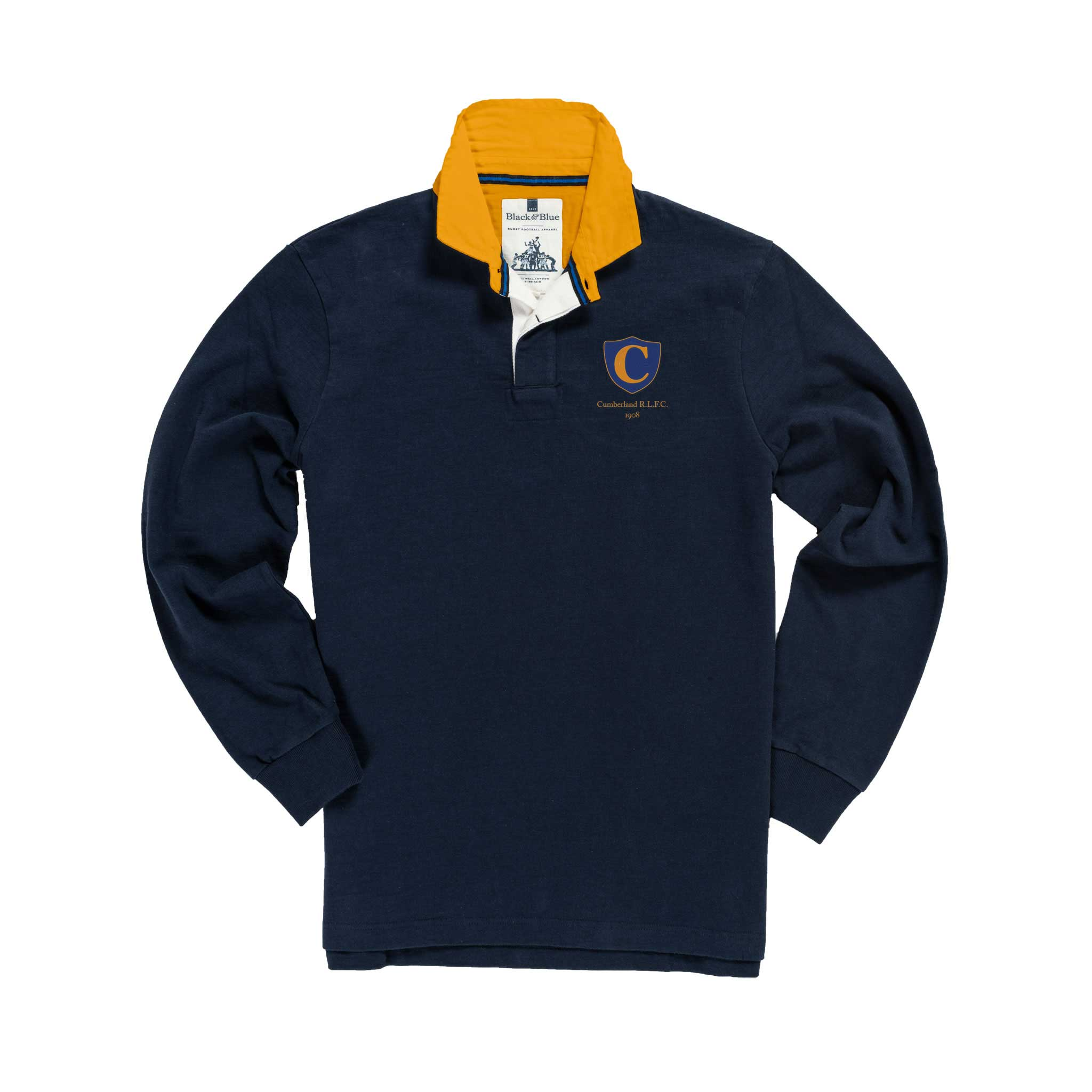 Cumberland 1908 Rugby Shirt_Front