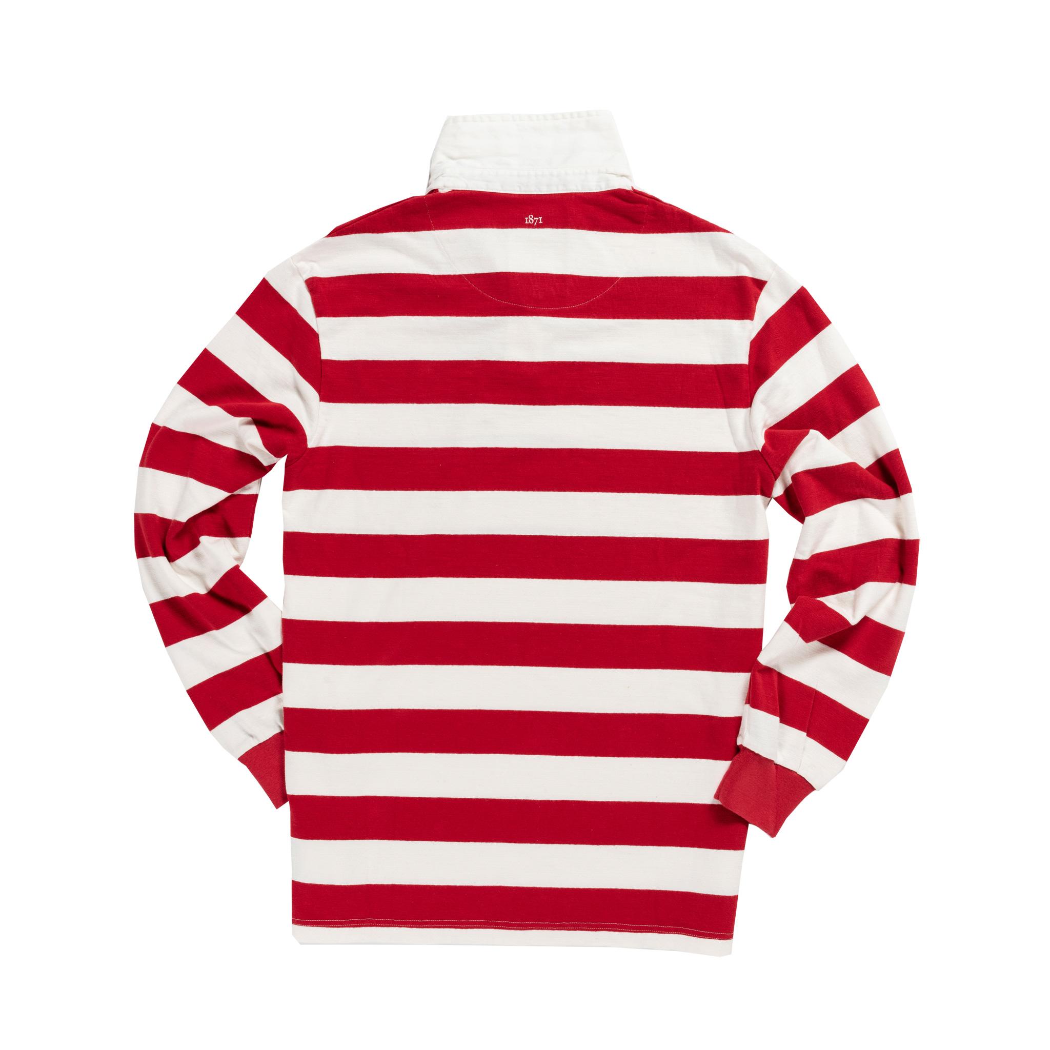 Newcastle Rebels 1908 rugby Shirt_Back