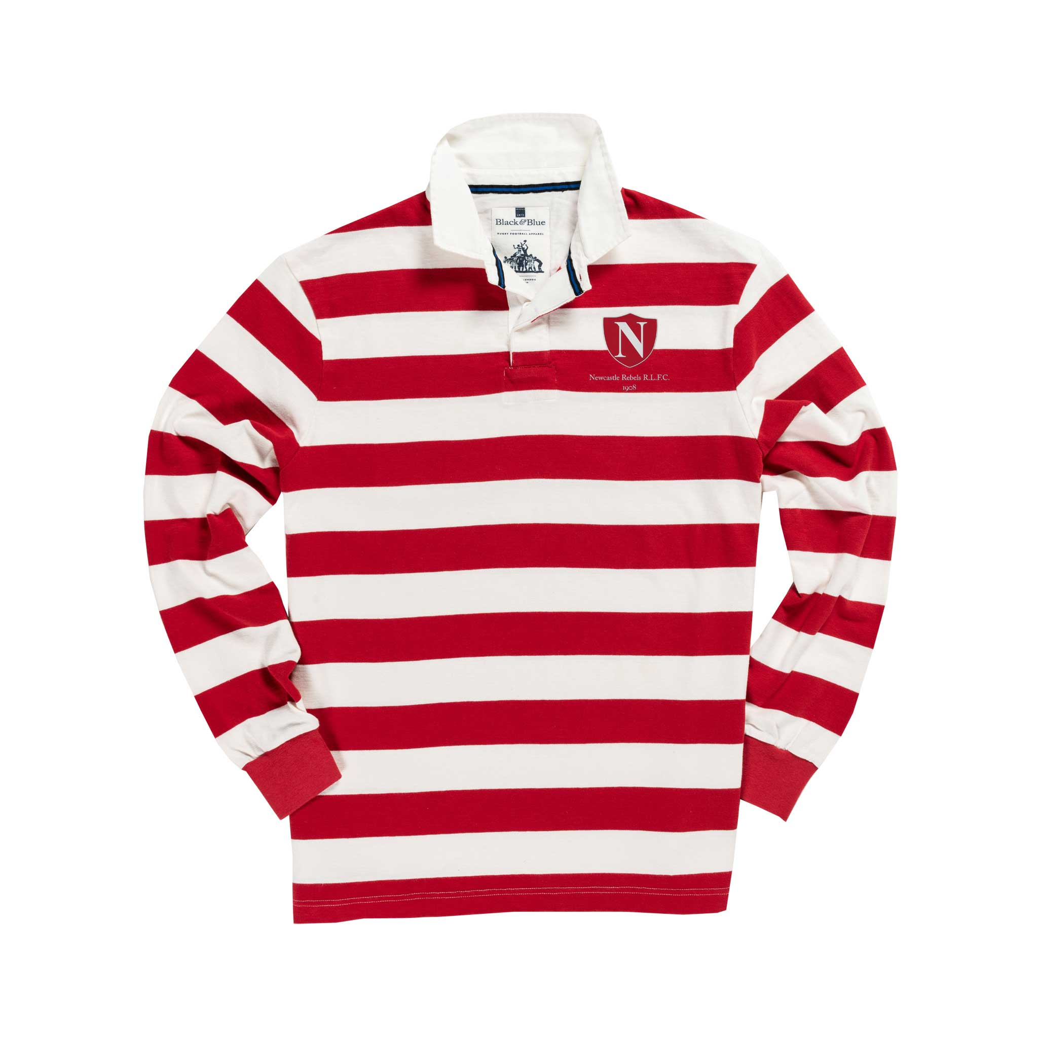 Newcastle Rebels 1908 rugby Shirt_Front