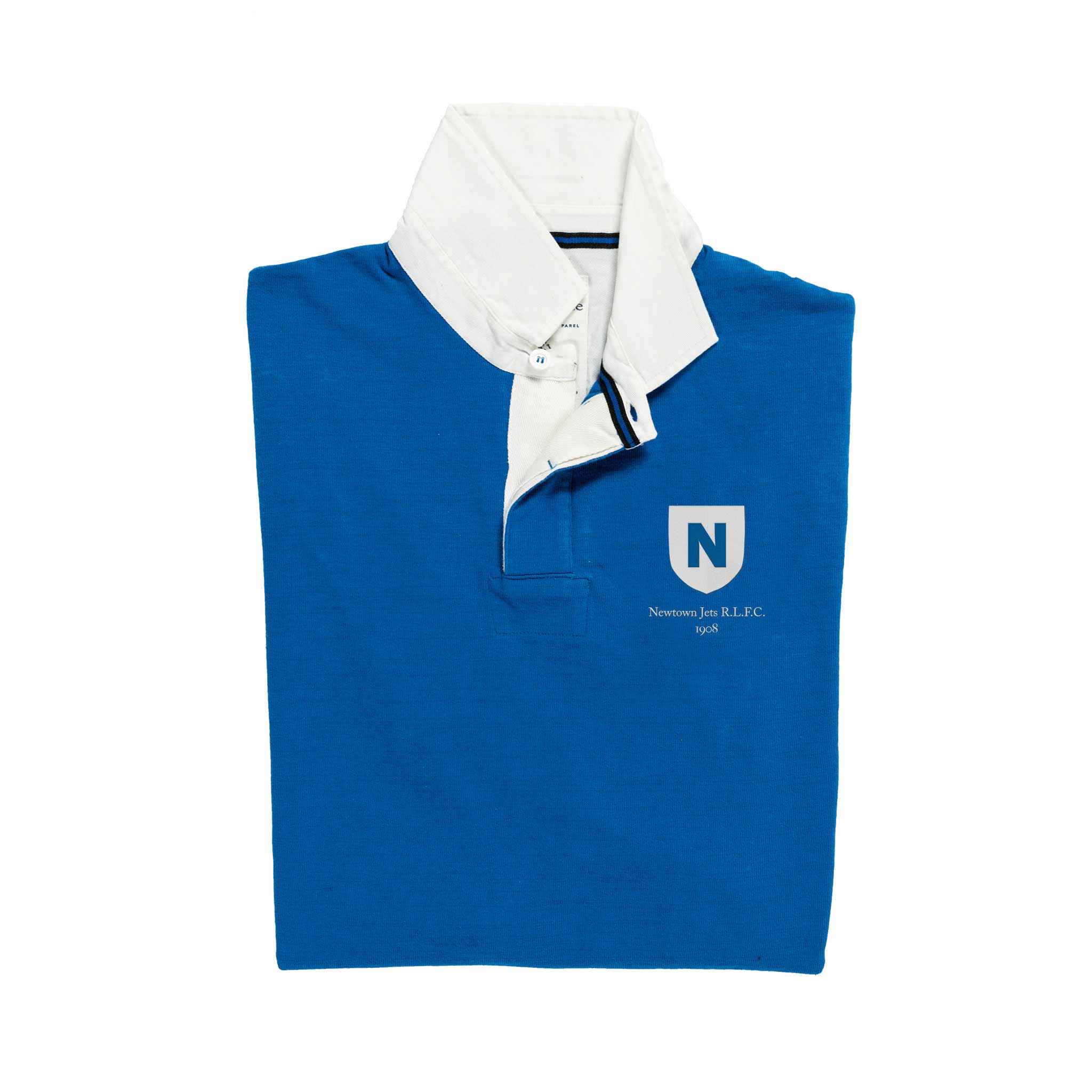 Newtown Jets 1908 Rugby Shirt_Folded