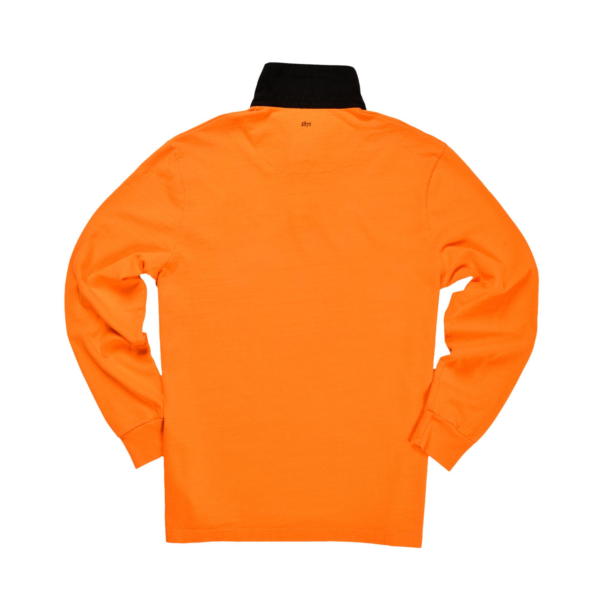 Netherlands 1930 Rugby Shirt_Back