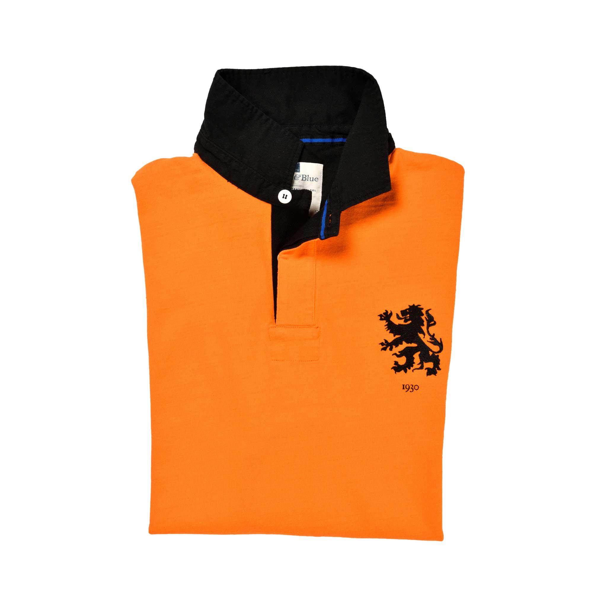 Netherlands 1930 Rugby Shirt_Folded
