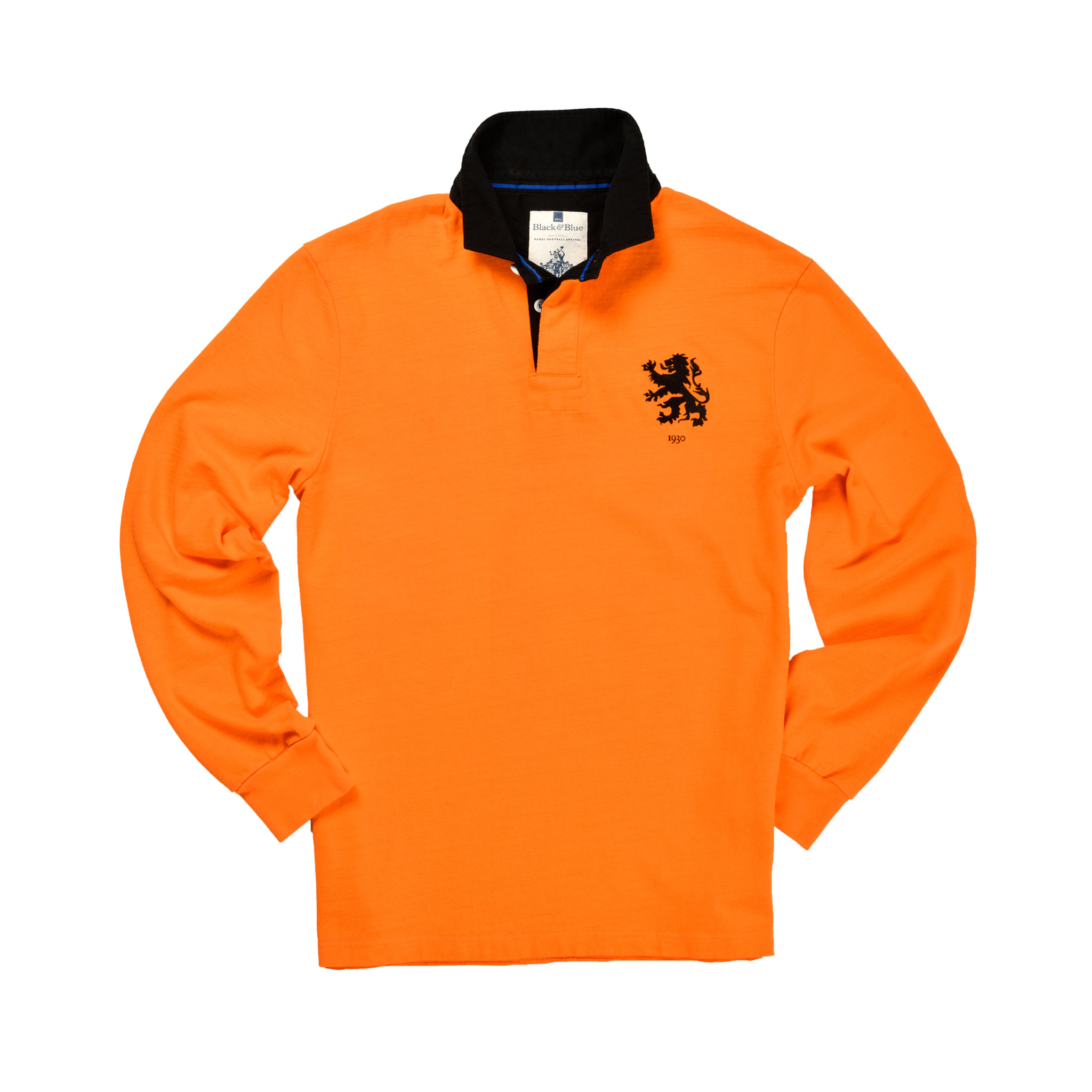 Netherlands 1930 Rugby Shirt_Front