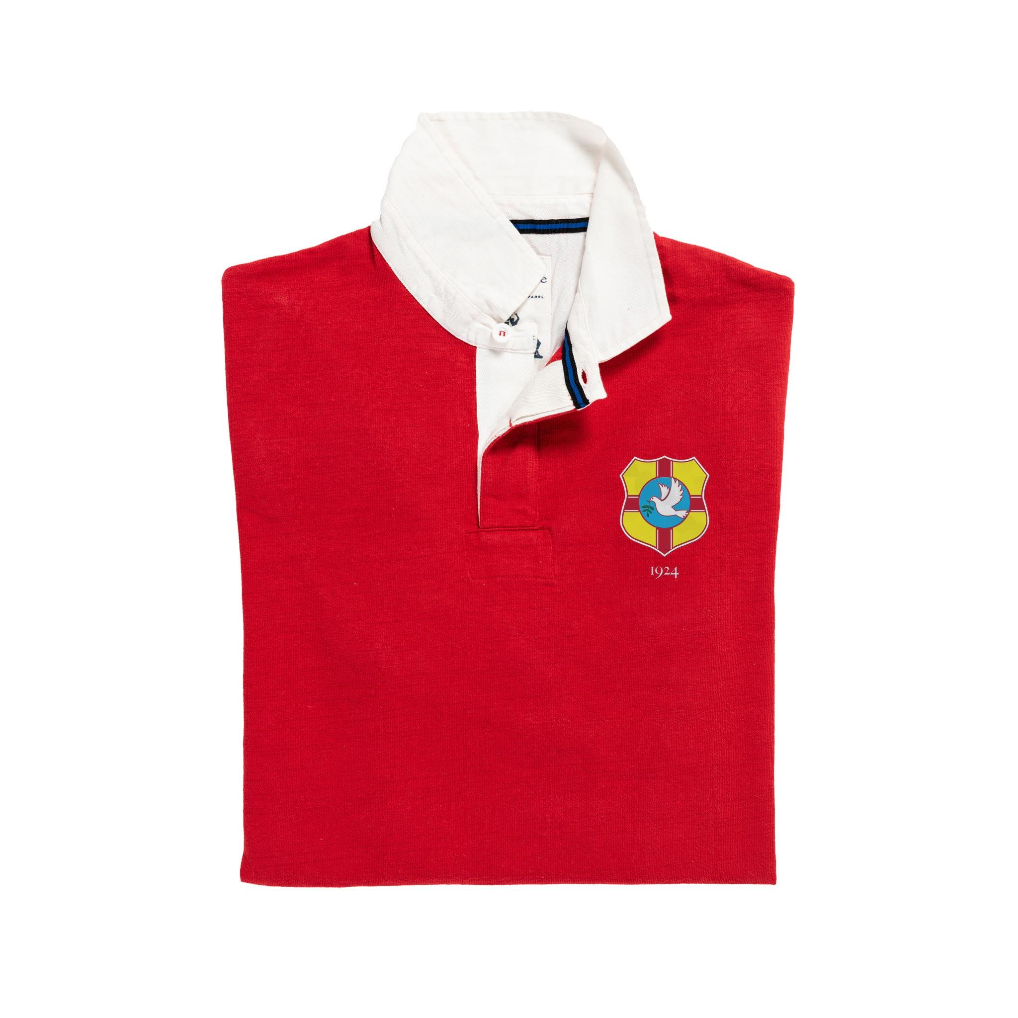 Tonga 1924 Rugby Shirt_Folded