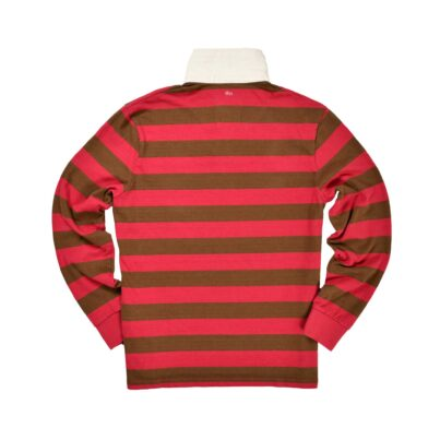 Classic Raspberry And Carafe 1871 Rugby Shirt_Back