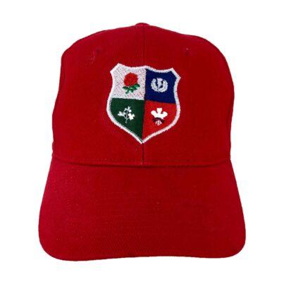 BRITISH AND IRISH LIONS BASEBALL CAP