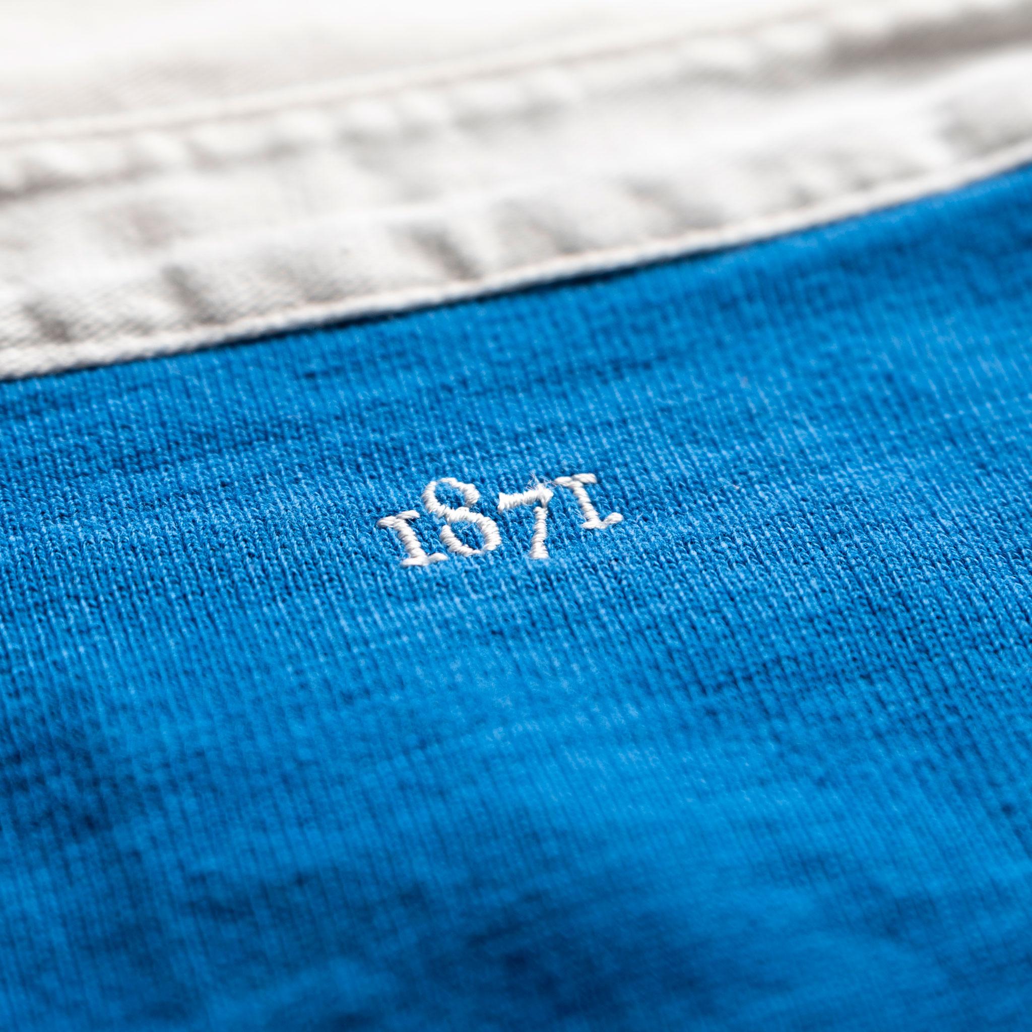 Netherlands 1930 Royal Blue Rugby Shirt_1871