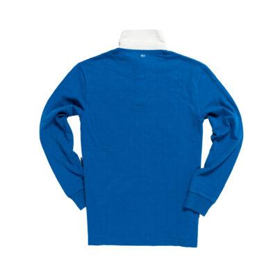 Netherlands 1930 Royal Blue Rugby Shirt_Back